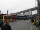 サムネイル:上海西南バスターミナルに到着です