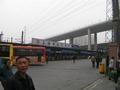 次の写真のサムネイル:上海西南バスターミナルに到着です