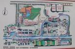 サムネイル:中国農民画村内の地図