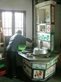 次の写真のサムネイル:農民画のルーツ かまど(実物)