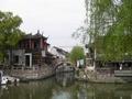 次の写真のサムネイル:竹行橋から見た北豊橋(楓涇三橋)