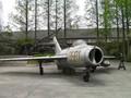 前の写真のサムネイル:人民公社跡の戦闘機