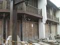 次の写真のサムネイル:南大街のあたりは改修中でした