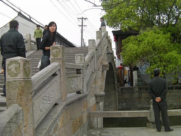 写真:清風橋(楓涇三橋)