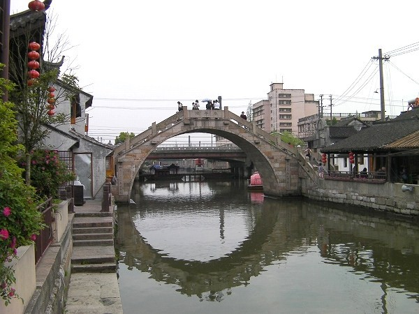写真:楓涇古鎮 東端の橋