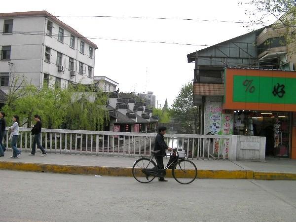 写真:楓涇古鎮の中の非常に普通の橋